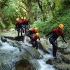 nature canyoning ain marche en riviére